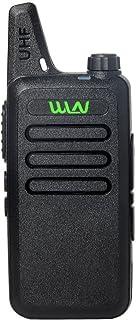 UHF 400-470 MHz MINI-handheld WLN KD-C1 Walkie Talkie Transceiver Radio …