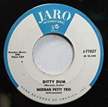 Norman Petty Trio 45 RPM Ditty Dum / Bring Your Heart