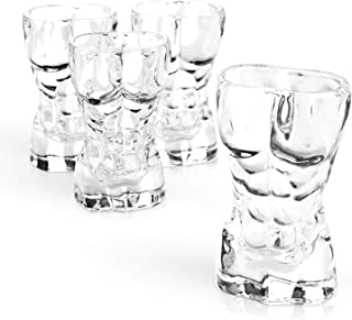 Scoth And Vodka Or Even Mini Cocktails For Parties Dinners Or Any Special Occasions Home Essentials /& Beyond 2066 Owl Shaped Shot Glasses 2.8 OZ Red Set Of 6 For Tequila Whiskey