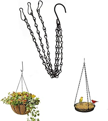 Hanging Chains for Plants Bird Feeders (Pack of 3)