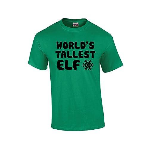 c484836e CBTWear World's Tallest Elf - Funny Family Premium Men's T-Shirt
