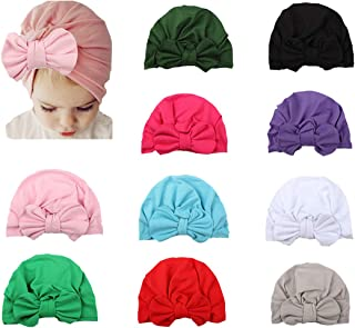 Elastic Stretch Head Wrap Infant Turban Toddler Baby Girl Knot Headbands