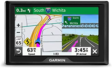 "Garmin Drive 52, GPS Navigator with 5"" Display, Simple On-Screen Menus and Easy-to-See Maps"