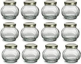 round jam jars