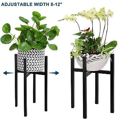Plant Stand, AngelaAlex Adjustable Mid Century ...