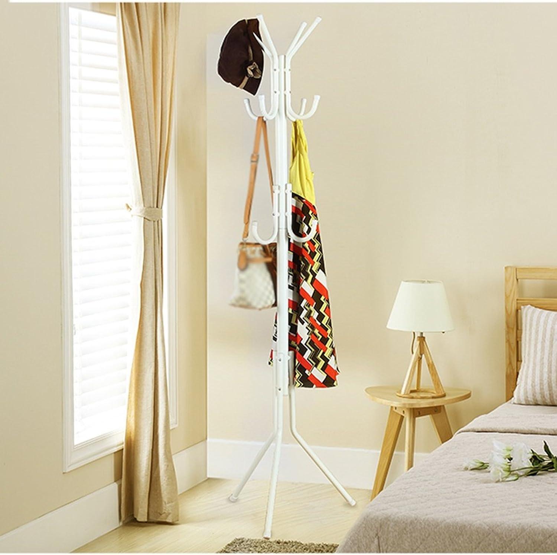 WENBO HOME- Coat Racks Landing Bedroom Living Room Creative Iron Hangers Simple Modern -Coat rack   hook ( color   White )