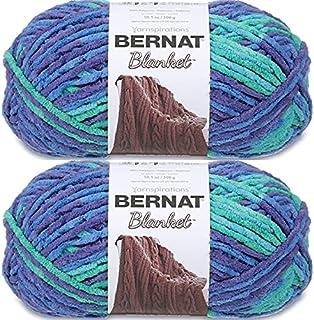 Bernat Yarn Blanket, Ocean Shades, 2x300g