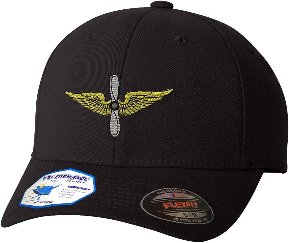 Army Aviation Flexfit Adult Pro-Formance Branded Hat Black Large/X-Large