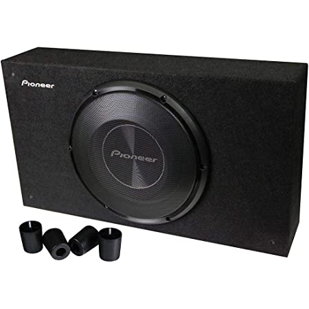 "PIONEER 10"" 1200W Shallow Box with WOOFER"