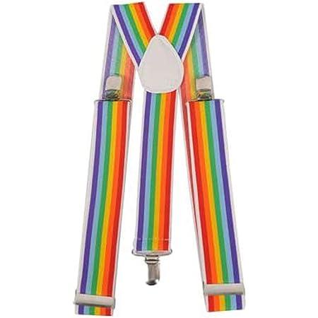 Bretelles Coloré Arc-en-ciel Rainbow