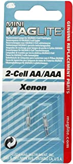Mag-Lite LM2A001 Replacement Xenon Lamps for AA Mini MagLite 2 per Package