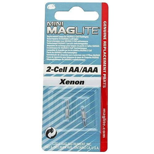 Ampoule de Rechange ampoules pour Maglite Mini-Mag AA /& AAA 2 ST lm2a001 Xenon