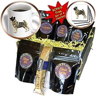 Dogs Norwegian Elkhound - Norwegian Elkhound - Coffee Gift Baskets - Coffee Gift Basket (cgb_995_1)