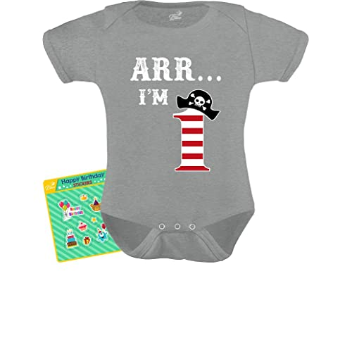 Arr I/'m 4 Pirate Birthday Party Four Years Old Toddler//Kids Long sleeve T-Shirt