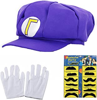 Best mario gloves and hat Reviews