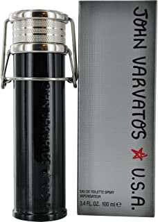 John Varvatos Star U.S.A for Men, 3.4 oz EDT Spray