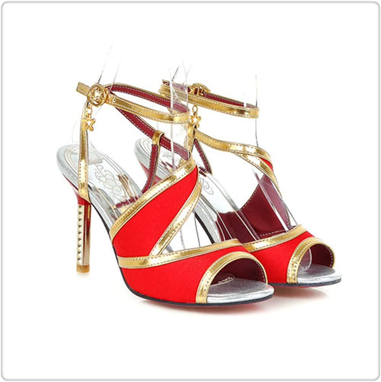AAKOPE& New hot Fashion Hot Sexy Sandals Women High Heels Pumps Dress shoes Women Sandals Women's shoes Red 4