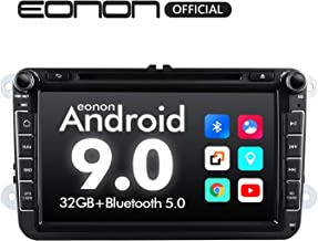 Double Din Car Stereo, Eonon Car Stereo with Bluetooth 8 Inch Car Radio GPS Navigation for Car Support Android Auto/Apple Carplay/Bluetooth 5.0/Fast Boot/DVR/Backup Camera/OBDII Fender System-GA9353