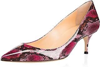 elashe- Scarpe da Donna - 6.5CM - Scarpe Tacco Gattino - Classiche Scarpe col Tacco