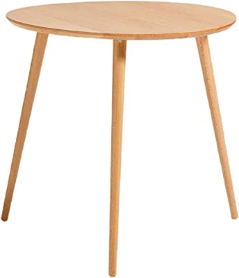 Mini Modern Simplicity Coffee Table Sofa Side Table Balcony Bedside Small Round Table