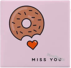 "Donut Miss You Home Printed Fashion Square Comfortable Seat Cushions Chair Pads Office Soft Cushion - 15"" x 14"""