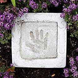 Kids Garden Handprint Stepping Stone Kit