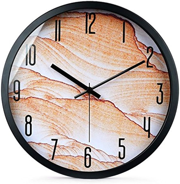 minorista de fitness FortuneVin Reloj de Cuarzo Ver Mute12 en en en Negro Elegante Reloj de Parojo casa Oficina Escuela de Cocina Relojes, Relojes Colgantes de fácil Lectura  aquí tiene la última