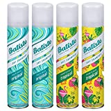 Batiste Dry Shampoo Spray 4 Pack Variety Mix, Original Clean And Classic, and...
