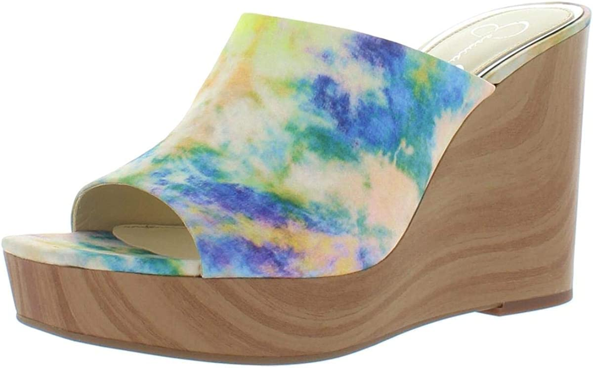 Jessica Simpson Women's All items in Brand Cheap Sale Venue the store Shantelle Slip On Open Wedge Sa Heel Toe