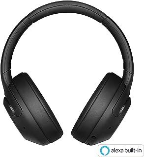 ソニー SONY ワイヤレスノイズキャンセリングヘッドホン WH-XB900N : 重低音モデル / Amazon Alexa対応 / bluetooth / 最大30時間連続再生 2019年モデル ブラック WH-XB900N B