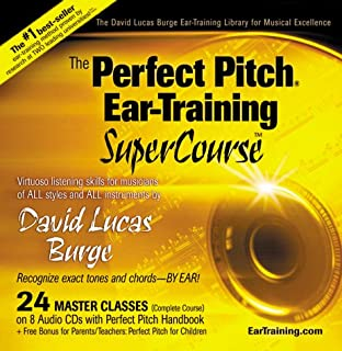 The Perfect Pitch Ear Training SuperCourse by David Lucas Burge (1999-11-01)