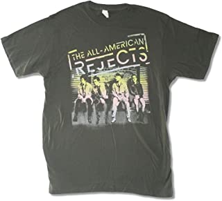All American Rejects On Deck 2012 Tour Grey T Shirt