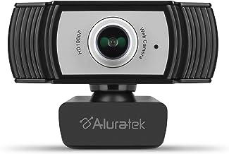Aluratek HD 1080P Video Webcam for PC, MAC, Desktop & Laptop, Video Call, Conference, USB (AWC04F)