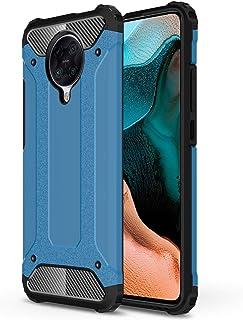 Xiaomi Poco F2 Pro Armour Protective Case, Xiaomi Poco F2 Pro Hard Shell Rugged Case, Hybrid Dual Layer Shockproof Case fo...