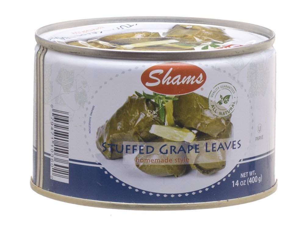Shams Stuffed Grape Leaves Home Style 14 Oz. Pack Max 84% OFF Of 12. Our shop most popular