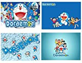 Juego de 4 manteles individuales Doraemon