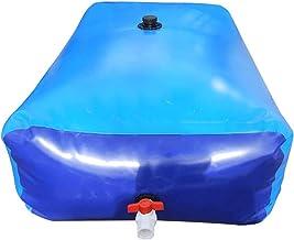 XBSXP Récipient de Stockage d'eau Portable, Sac de Stockage d'eau Pliable épaissi de Grande capacité monté sur véhicule, r...