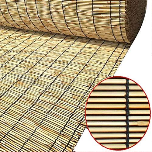 Bamboo curtain Customized, Indoor Shading/partitioning/elevating Curtain, Retro Wall Decoration, 70% Transmittance