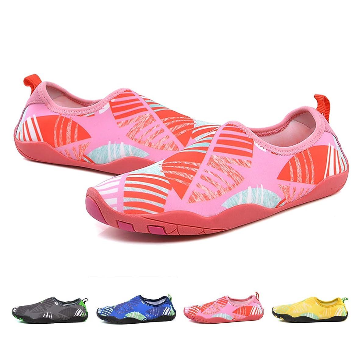 ペルメルフェッチ美容師[小飛熊] ビーチシューズ超軽量フィットネス靴ヨガ靴排水通気水陸両用男女共通