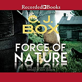 Force of Nature audiobook cover art