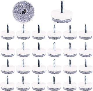 211 Piezas Almohadillas de Fieltro para Muebles de Calidad Premium Blusmart Fieltro Adhesivo para Muebles Cuadrado Redondo Marr/ón Gris Juego de Protector para Patas de Mesa para Silla 8