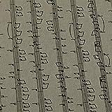 Dekostoff Emilia von Swafing, Noten, Leinenoptik, beige