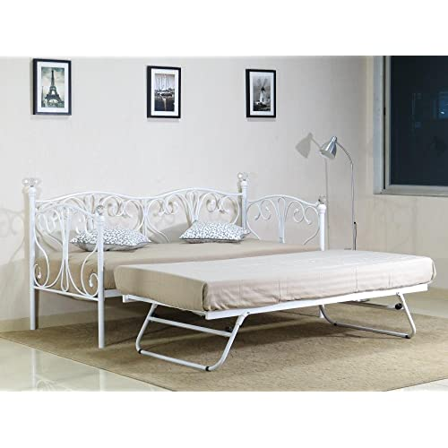 Day Beds With Trundle And Mattresses Included Amazon Co Uk