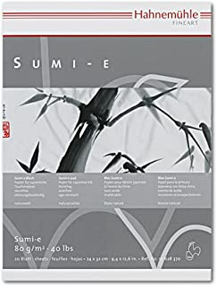 Hahnemuhle Sumi-E Pad 9.5X12.5 Inches