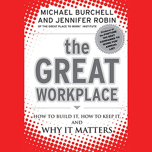 The Great Workplace audiobook cover art