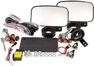 Tusk UTV Street Legal Kit- Lights, Horn, Turn Signals, Mirrors, License Plate - POLARIS RANGER RZR XP XP4 1000 2014–2018