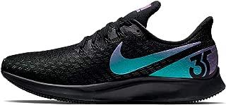 Nike Men's Air Zoom Pegasus 35 Running Shoes, Black/Laser Fuchsia-Anthracite (US 11)
