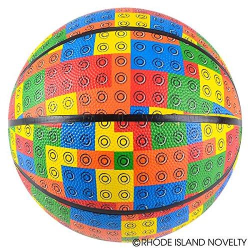 Buy 5 BLOCK PATTERN MICRO BASKETBALL