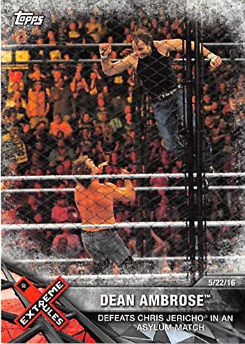 dean ambrose trading cards - 8