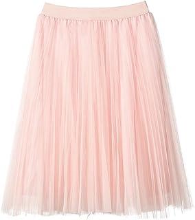 Women's Tulle Skirt Long Mesh Skirt One Size Flare Tulle Tu Midi Skirt